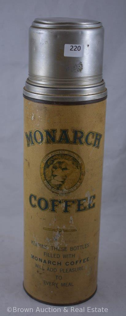"""""""Monarch Coffee"""" thermos with lid"""