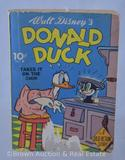 Dell publishing Donald Duck Takes it on the Chin #8 dime book