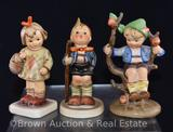 (3) Hummel figurines, 4