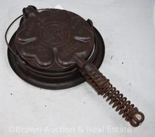 Griswold No. 18 Cast Iron waffle iron