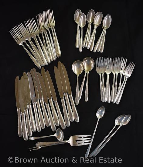 57 pc. Set of Towle Sterling Silver flatware, Madeira pattern