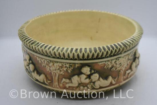"Roseville Donatello 4""h x 9""w bowl"