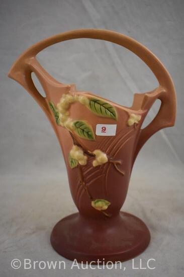 """Roseville Snowberry 1BK-10"""" basket, pink"""