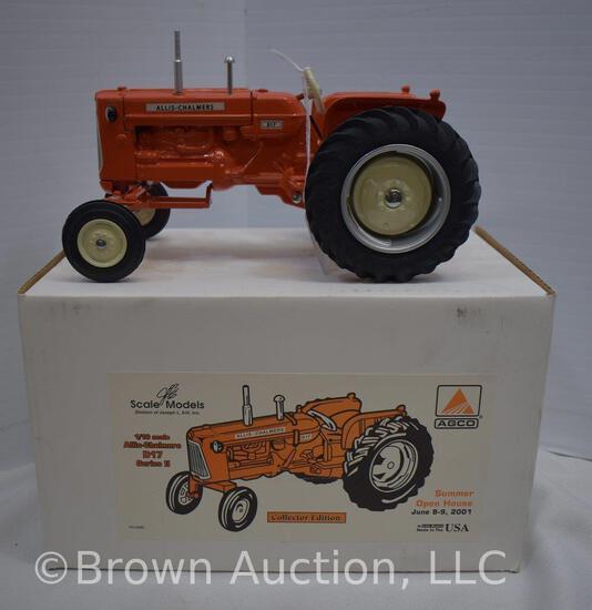 Allis-Chalmers D17 die-cast metal tractor