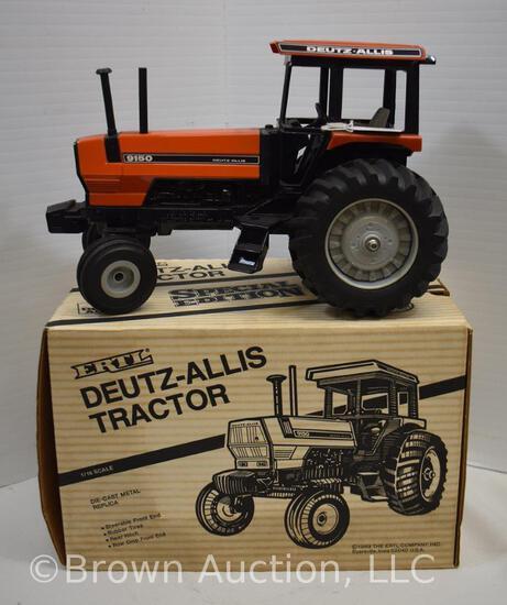 Deutz-Allis 9150 die-cast metal tractor (orange)