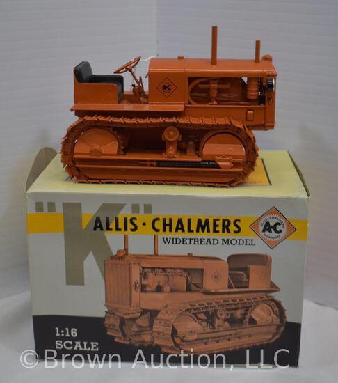 """Allis-Chalmers """"K"""" die-cast metal crawler tractor"""