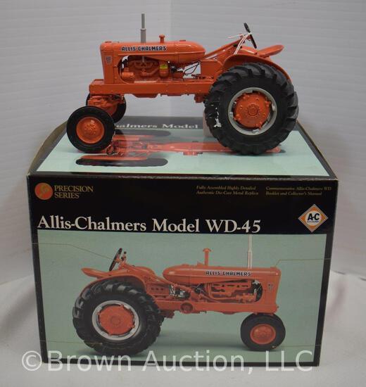 Allis-Chalmers Model WD-45 die-cast metal tractor