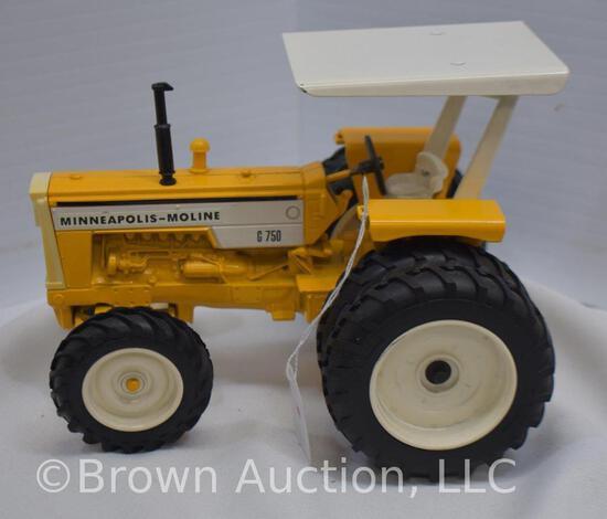 Minneapolis-Moline G750 die-cast metal tractor