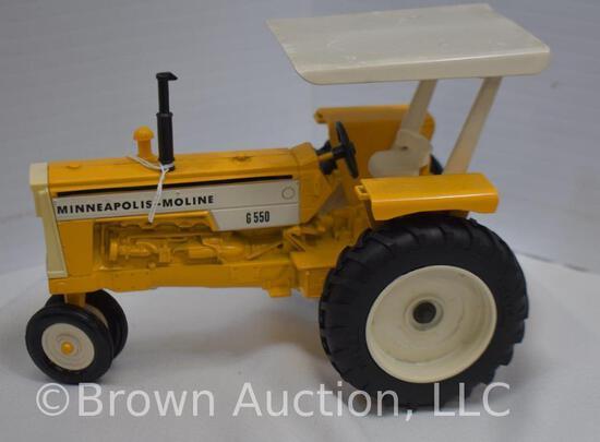 Minneapolis-Moline G550 diesel die-cast metal tractor