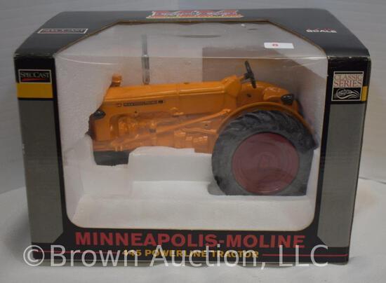 Minneapolis-Moline 445 Powerline die-cast metal tractor