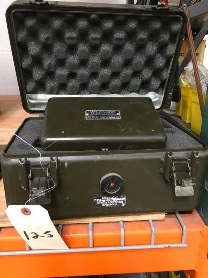 Vintage Military Test Set Radio TS-3951/PRM-34 | Vehicles