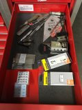 Assorted razor blades, picks,etc