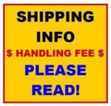 ***WE DO NOT SHIP*** DO NOT BID ON THIS ITEM!