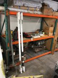 Pallet racking section