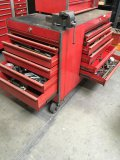 Snap-On Base rolling tool box with plethora of tools/items!! Look at all the pics!