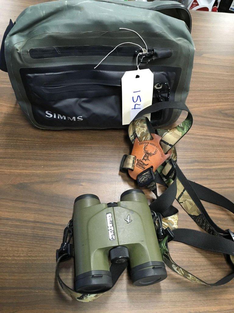 Swarovski SLC 8 x 30 WB binoculars & Simms bag