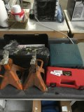 Wire crimping tool, Makita drill, jacks stands,Shur Grip tire chain
