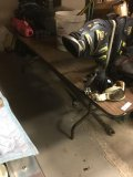 3' x 8' folding table. Item on table NOT included