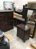 Cindy Crawford Home Armoire top & bottom, night stand & Ikea wall mirror