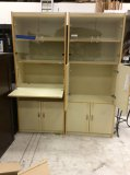 Heather Audrey entertainment/office cabinets. 78