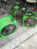 2 Servpro Fans model P-164- S. 5.4 AMPS. 1 has no tag to verify model