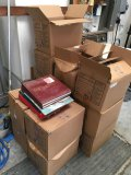Lot. 14 boxes of books