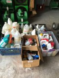 Lot of assorted chemicals