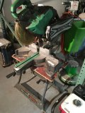 Hitachi C12RSH Laser saw with Black & Decker Workmate stand