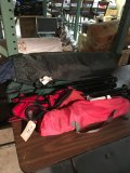 Lot camping tent & chairs