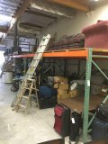 Pallet racking system approx. 110' x 3'