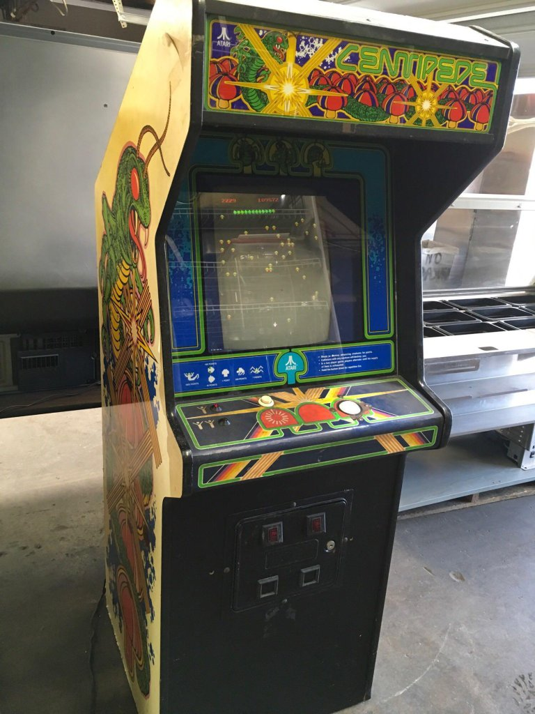 Atari Centipede Arcade Game Works Art Antiques Collectibles Entertainment Memorabilia Other Memoriabilia Online Auctions Proxibid