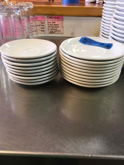 Radford China Saucers, Assorted, 19 pieces