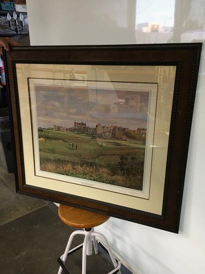 The Old Course St. Andrews, 17th Hole and the Swilcan Bridge, by Donald M. Shearer