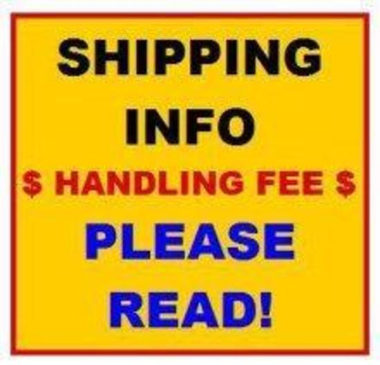 ***SHIPPING INFORMATION** DO NOT BID ON THIS ITEM**