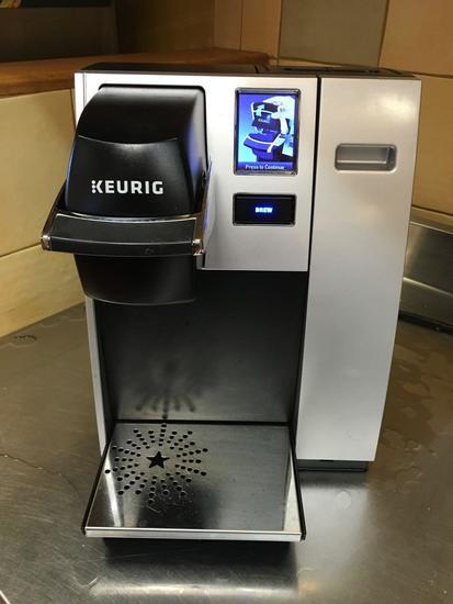 Keurig Commercial Model Coffee machine, model K150