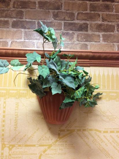 Wall deco, artificial plant