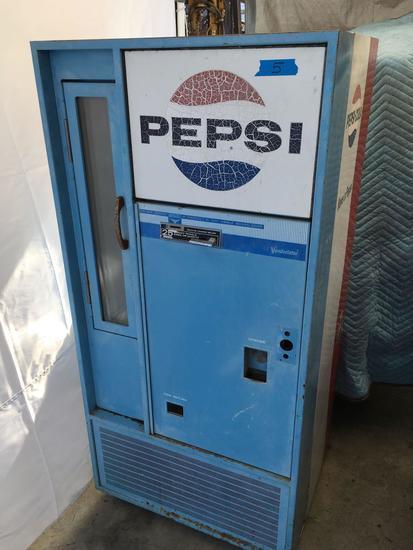 Vintage Pepsi-Cola machine