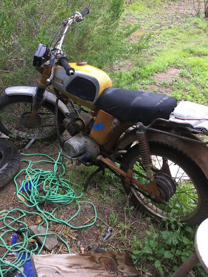 "Yamaha motorcycle ""As Is"" SOLD ON BOS"