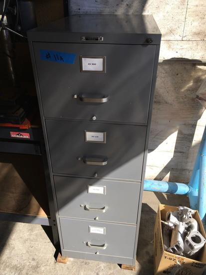 McMahan Brothers 4 drawer file cabinet