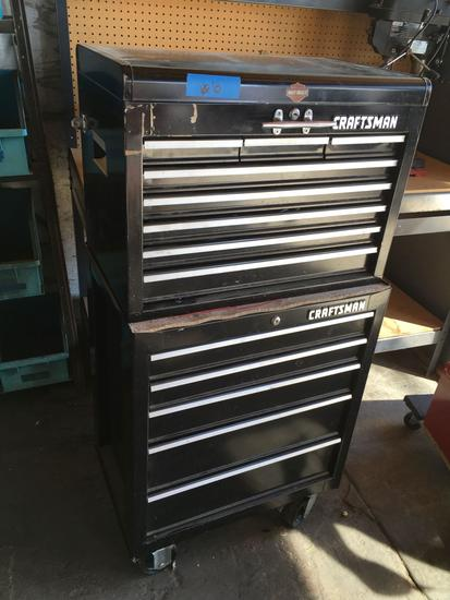 Craftsman Rolling Tool Box with Tools MORE PHOTOS JUST ADDED
