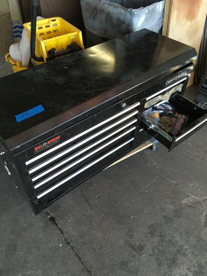 Craftsman upper tool box with tools