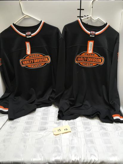 New Harley Davidson riding crew shirts, New with tags size Medium