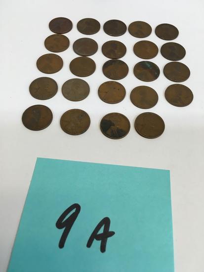 1912 - 1924 pennies