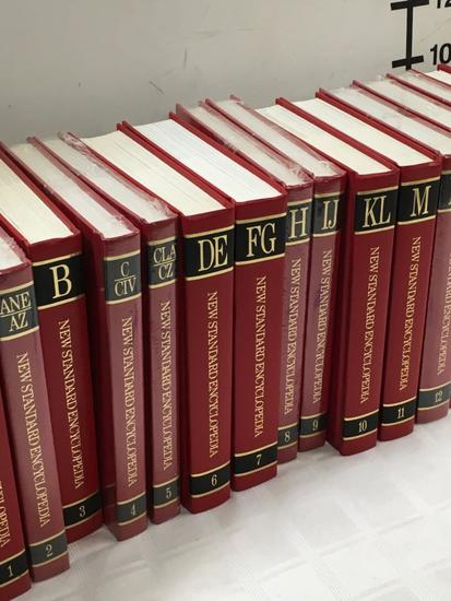 New Standard Encyclopedia 1-20, New Standard Dictionary I and II, Insurance Law Books