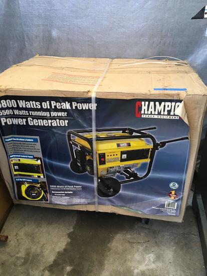 Champion 6800/5500 Watt Power Generator