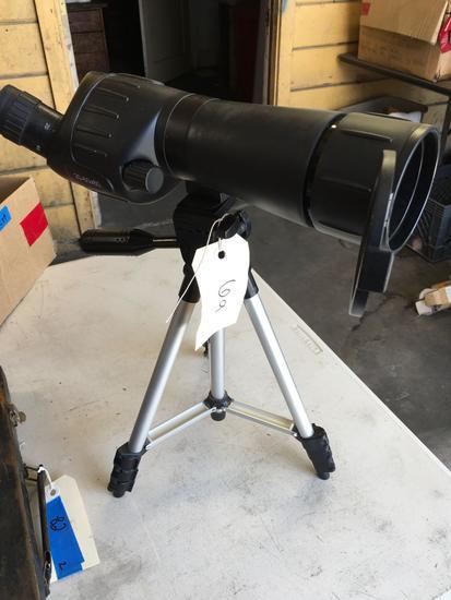20-60x60 spotting scope with tripod