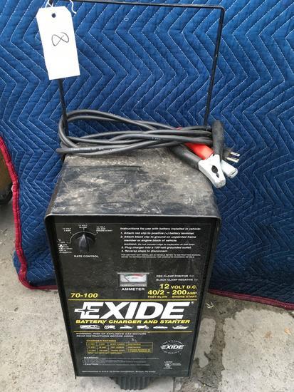Exide 70-100, 12 volt, battery charger