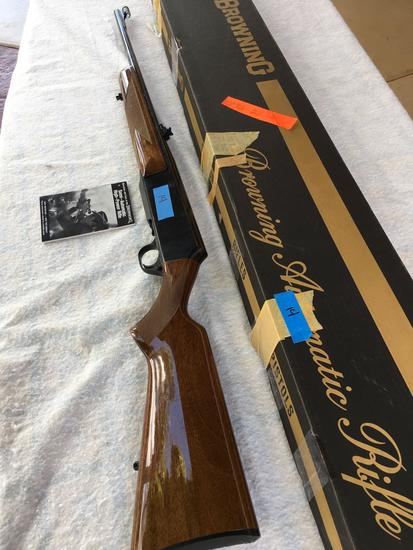 Browning 30-06 Semi Automatic Rifle, Serial # 1378M09360,