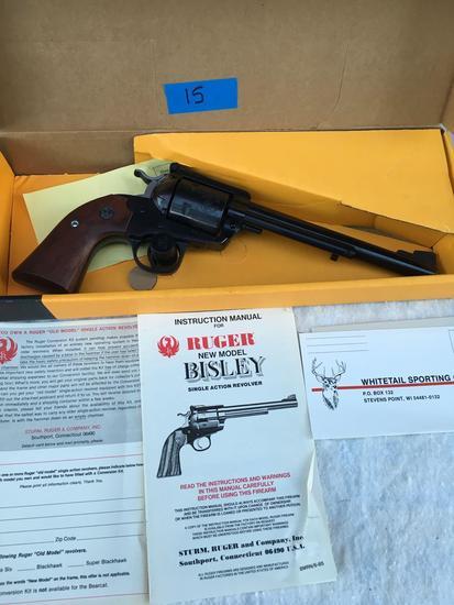 Ruger Bisley .44 Mag Black Hawk Revolver, Serial # 85-51254