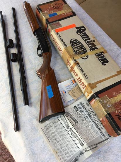 Remington 20ga. Shotgun model 1100 Serial # L149665X, 1 Full BBL & 1 Skeet BBL